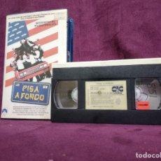 Cine: PISA A FONDO, EN VHS, ORIGINAL, CON CARÁTULA. Lote 148531770