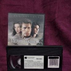 Cine: PEARL HARBOR, EN VHS, ORIGINAL, CON CARÁTULA. Lote 148531946