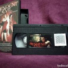 Cine: RESIDENT EVIL EN VHS, ORIGINAL, CON CARÁTULA. Lote 148536038