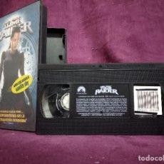 Cine: TOM RAIDER EN VHS, ORIGINAL, CON CARÁTULA. Lote 148536118