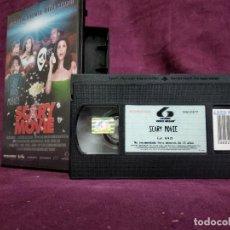 Cine: SCARY MOVIE EN VHS, ORIGINAL, CON CARÁTULA. Lote 148537074