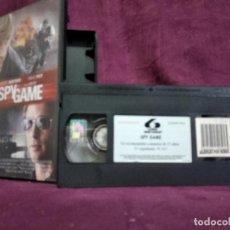 Cine: SPY GAME EN VHS, ORIGINAL, CON CARÁTULA. Lote 148537174