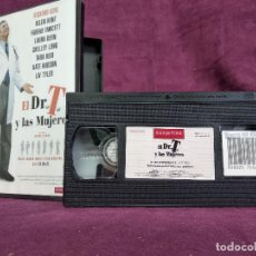 Cine: EL DR T Y LAS MUJERES EN VHS, ORIGINAL, CON CARÁTULA. Lote 148537254