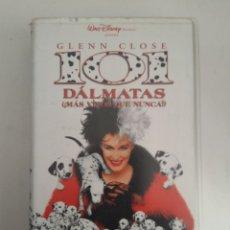 Cine: VHS 101 DALMATAS DISNEY. Lote 148787545