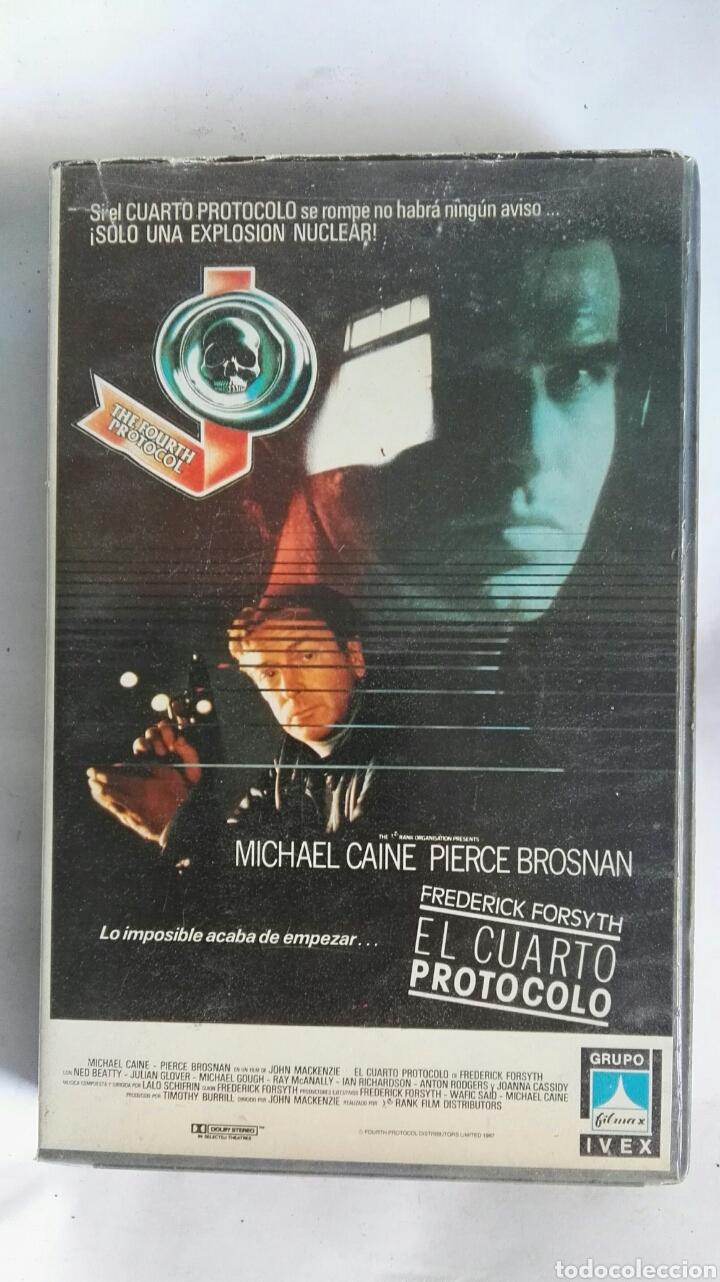 EL CUARTO PROTOCOLO VHS (Cine - Películas - VHS)