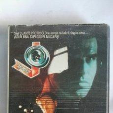 Cine: EL CUARTO PROTOCOLO VHS. Lote 148856316