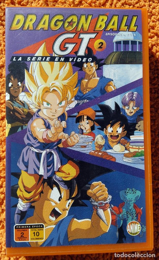 ((ANIMACION-VHS)) DRAGON BALL GT 2 - SERIE EN VIDEO - EPISODIOS 4,5 Y 6, MANGA, ANIME - 1996 (Cine - Películas - VHS)