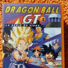 Cine: ((ANIMACION-VHS)) DRAGON BALL GT 2 - SERIE EN VIDEO - EPISODIOS 4,5 Y 6, MANGA, ANIME - 1996. Lote 148965358