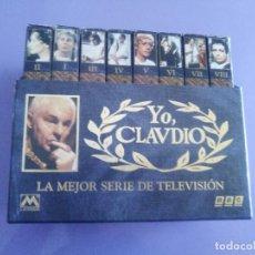 Cine: JOYA. LA MEJOR SERIE DE TELEVISION. B. B. C. YO CLAUDIO. 8 VHS (COMPLETA) (VHS-090). Lote 149709130
