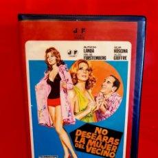 Cine: NO DESEARÁS LA MUJER DEL VECINO (1971) - ALFREDO LANDA, SYLVA COSCINA, JOSÉ SACRISTÁN. J. FRADE. Lote 149726174