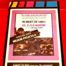 Cine: EL CAZADOR (1978) - RAREZA EDICIÓN NUNCA EN TC. Lote 150500586