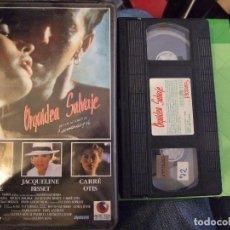 Cine: ORQUIDEA SALVAJE - ZALMAN KING - MICKEY ROURKE , JACQUELINE BISSET - RECORD VISION 1990. Lote 150551414