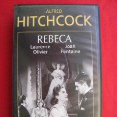 Cine: VHS - REBECA - ALFRED HITCHCOCK.. Lote 150589582