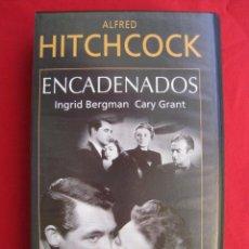 Cine: VHS - ENCADENADOS - ALFRED HITCHCOCK.. Lote 150589882