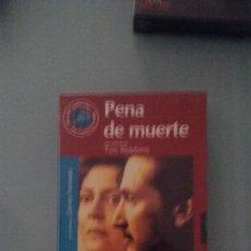 Cine: VIDEO VHS. PENA DE MUERTE . TIM ROBBINS. EL MUNDO.2000. Lote 150831898
