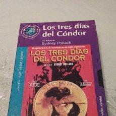 Cine: VIDEO VHS. LOS TRES DIAS DEL CONDOR - SYDNEY POLLACK. EL MUNDO.2000. Lote 150833778