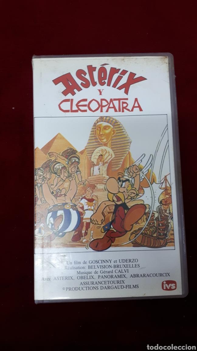 ASTÉRIX Y CLEOPATRA, VHS. (Cine - Películas - VHS)