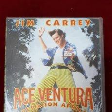 Cine: AVENTURA OPERACION AFRICA. JIM CARREY, VHS. Lote 151074528