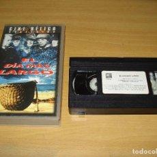 Cine: EL DÍA MÁS LARGO (CINE BÉLICO COLECCIÓN). VHS. BARCODE 842026621210. BUEN ESTADO. Lote 151126182