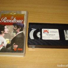 Cine: LA REVOLTOSA (RUPERTO CHAPÍ) COLECCIÓN LAS ZARZUELAS. VHS. BUEN ESTADO. Lote 151127002