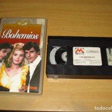 Cine: BOHEMIOS (AMADEO VIVES) COLECCIÓN LAS ZARZUELAS. VHS. BUEN ESTADO. Lote 151127106