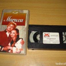 Cine: MARUXA (AMADEO VIVES) COLECCIÓN LAS ZARZUELAS. VHS. BUEN ESTADO. Lote 151127610