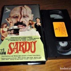 Cine: SARDÚ . TERROR . TROMA - 1ª EDICION VHS. Lote 151362686