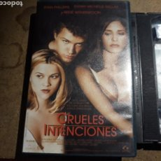 Cine: VHS- CRUELES INTENCIONES- RYAN PHILLIPPE REESE WITHERSPOON. Lote 171443209
