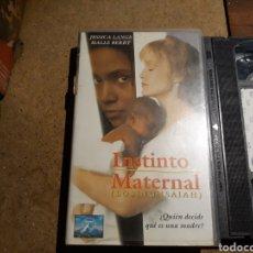 Cine: VHS- INSTINTO MATERNAL- JESSICA LANGE. Lote 151379261