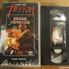 Cine: VHS- ASESINOS CIBERNÉTICOS- PETER WELLER. Lote 151486225