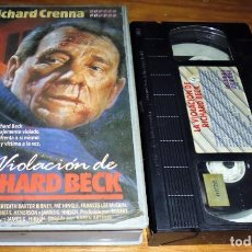 Cine: LA VIOLACION DE RICHARD BECK . RICHARD CRENNA - VHS. Lote 151504878