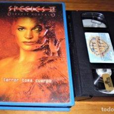 Cine: SPECIES 2 . ESPECIE MORTAL 2 . TERROR - VHS PEDIDO MINIMO 6 EUROS. Lote 151517254