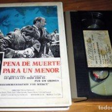 Cine: PENA DE MUERTE PARA UN MENOR - VHS . Lote 151545722