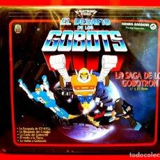 Cine: EL DESAFIO DE LOS GOBOTS (LA SAGA DE GOBOTRON PARTES I Y II) (1984) - HANNAH-BARBERA VHS (2 CINTAS). Lote 151637842