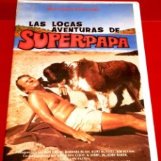 Cine: LAS LOCAS AVENTURAS DE SUPERPAPA - KURT RUSSELL - WALT DISNEY 1º EDICION VIDEOCLUB. Lote 151661850