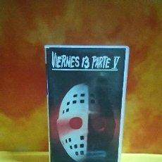 Cine: VIERNES 13 PARTE V - VHS. Lote 151667346
