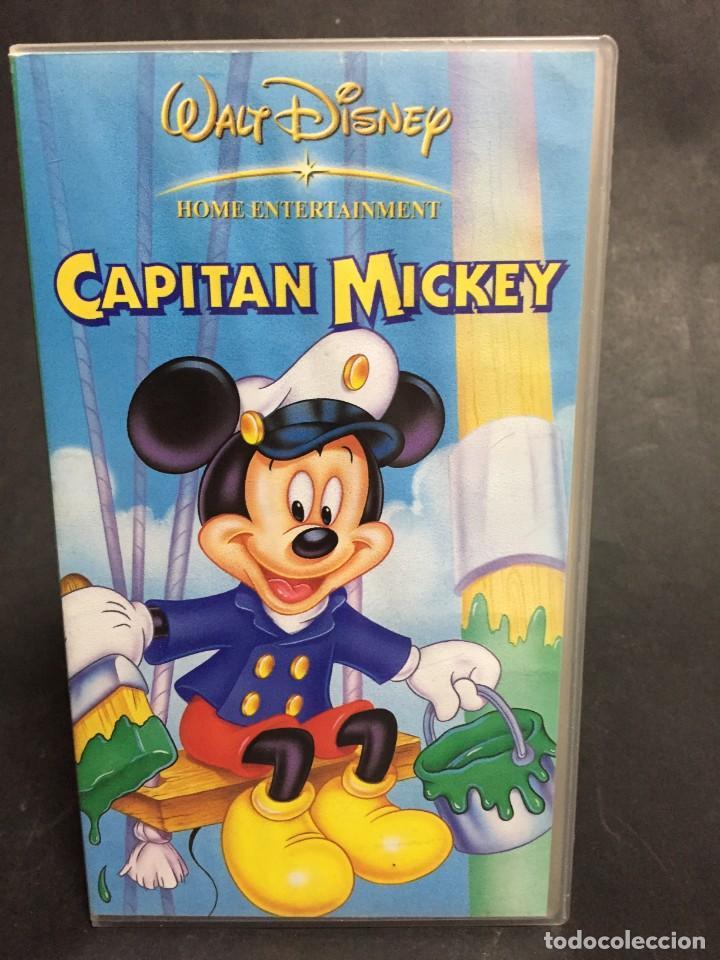 VHS VIDEO CAPITAN MICKEY WALT DISNEY MICKEY MOUSE (Cine - Películas - VHS)