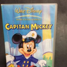 Cine: VHS VIDEO CAPITAN MICKEY WALT DISNEY MICKEY MOUSE . Lote 151677210