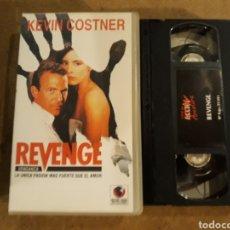 Cine: VHS- REVENGE- KEVIN COSTNER. Lote 151714518