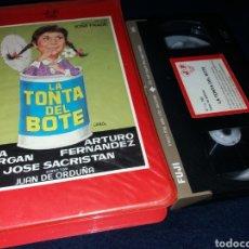 Cine: LA TONTA DEL BOTE- VHS- LINA MORGAN- 1 EDICION- JOSE FRADE. Lote 151899322