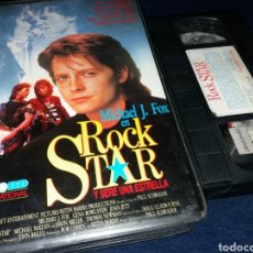 Cine: ROCK STAR- VHS- MICHAEL J. FOX- 1987- DESCATALOGADA. Lote 151900057