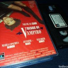 Cine: BESOS DE VAMPIRO- VHS- NICOLAS CAGE - DESCATALOGADA. Lote 151900496