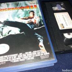 Cine: KICKBOXER 3 EL ARTE DE LA GUERRA- VHS- DIR: RICK KING- DESCATALOGADA. Lote 151901302