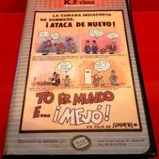 Cine: TO ER MUNDO E MEJÓ . MANUEL SUMMERS - OJO BETA!. Lote 151906326