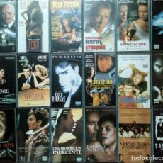 Cine: ''LOS ÚLTIMOS ÉXITOS DEL CINE'' - COLECCIÓN DE 41 PELÍCULAS (VHS) - 1993-1999. Lote 151911862