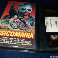 Cine: PSICOMANIA- VHS- DIR: DON SHARP 1973- TERROR - MOTORAS SATANICOS. Lote 151966376