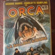Cine: ORCA LA BALLENA ASESINA (1977) VHS.. Lote 152000558