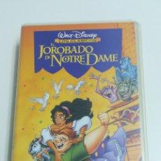Cine: CIBTA VHS EL JOROBADO DE NOTRE DAME. Lote 152061554