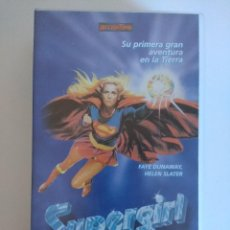 Cinema: VHS/SUPERGIRL.. Lote 152217838