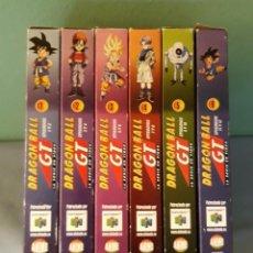 Cine: COLECCION DE 6 VHS DE DRAGON BALL GT ORIGINAL EN MUY BUEN ESTADO. Lote 152447346